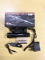 Тактичний ліхтарик Police Bailong Police BL-1837-T6, вологозахищений ручний