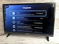 "Телевизор JPE 32"" HD экран T2, USB, HDMI, VGA"