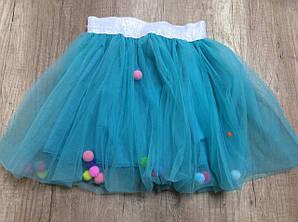 Нарядная пышная юбка для девочки