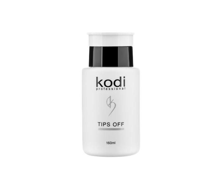 Жидкость для снятия гель лака TIPS OFF Kodi 160 мл