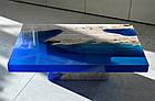 """Смола епоксидна КЕ """"Slab-521 Blue"""" - синя, фото 5"""