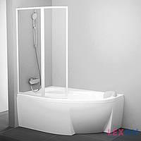 Шторка для ванны Ravak VSK2 Rosa L 160 Transparent (76L90100Z1)