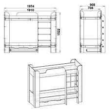 Кровать ТВИКС-2, фото 2
