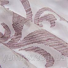 Органза  с утяжелителем дафия  фиолет  109016