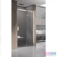 Душевые двери Ravak Matrix MSD2-110 R полированный алюминий+Transparent (0WPD0C00Z1)