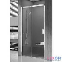 Душевые двери Ravak Matrix MSD2-100 L полированный алюминий+Transparent (0WLA0C00Z1)