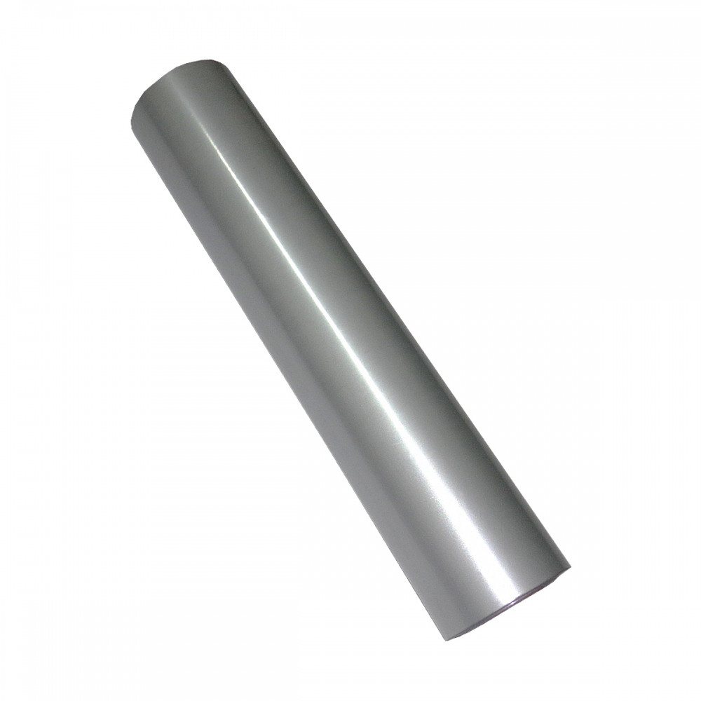 Фольга для ламинирования Серебро мат, Шир. 210мм, намотка 30м. Crown Roll Leaf Цвет №02