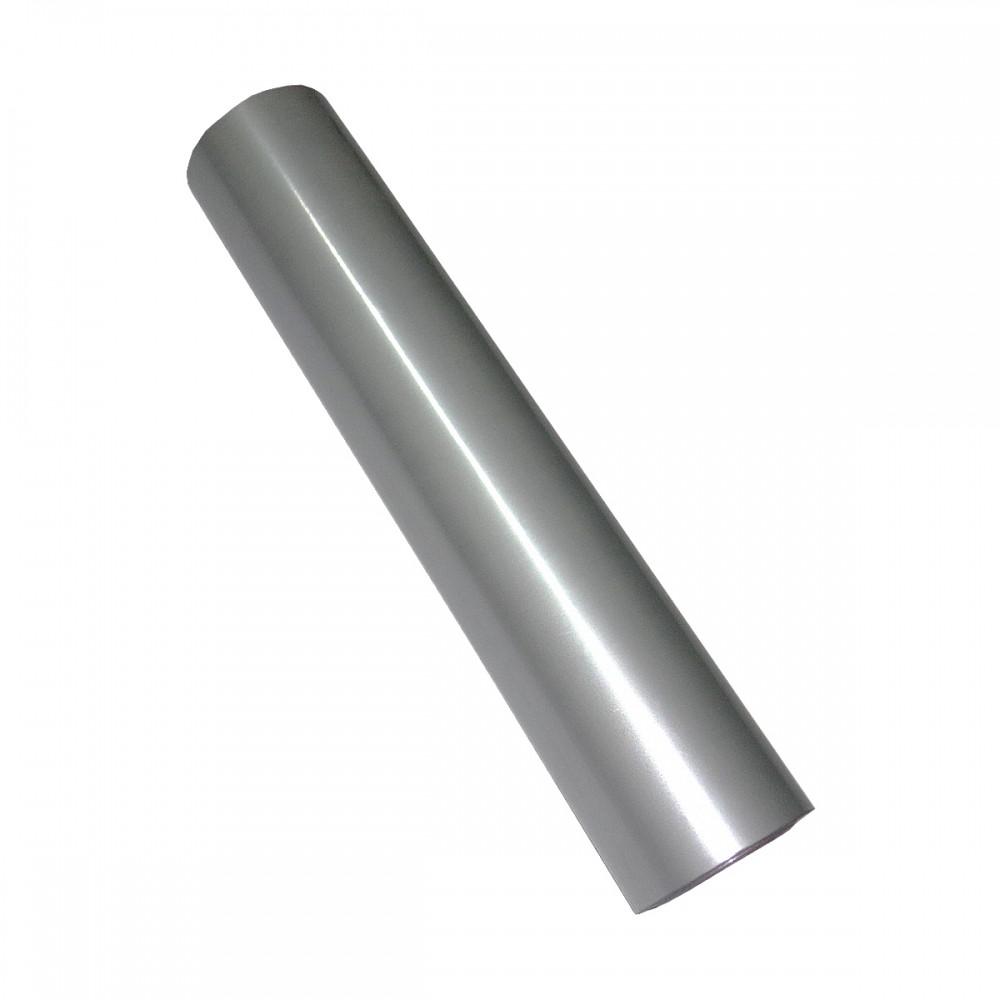 Фольга для ламинирования Серебро мат, Шир. 210мм, намотка 30м. Crown Roll Leaf Цвет №02, фото 1