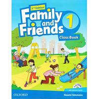 Family and friends 1,2,3,4,5 (2-edition) Комплект (Учебник + Тетрадь) Ч\Б Копия!
