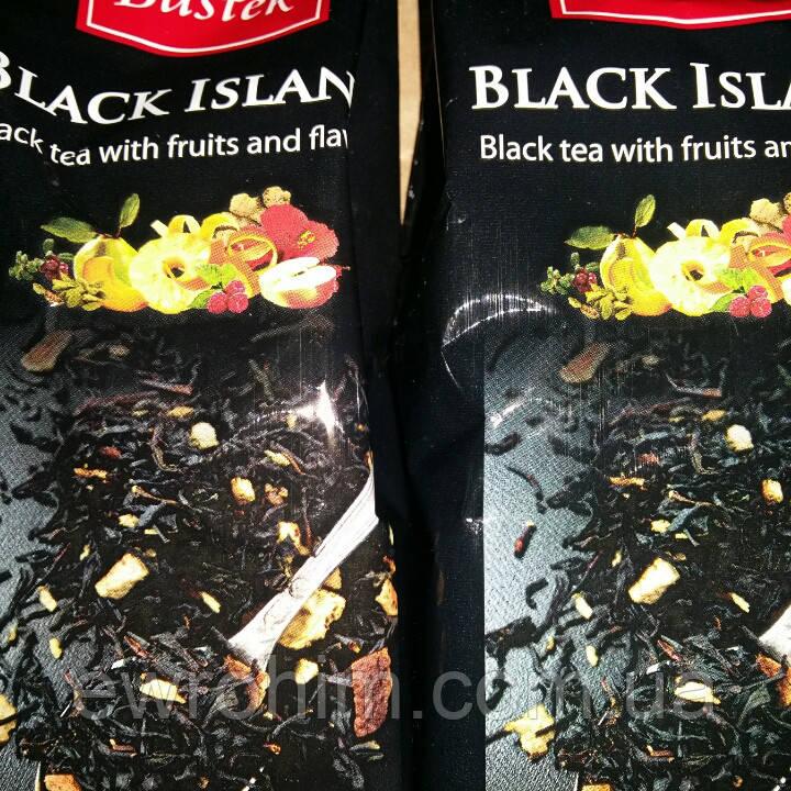 Чай черный Bastek Black Island фруктово-цветочный, 100 г
