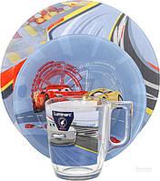 Набор детской посуды Disney Cars 3 предмета N5280 Luminarc