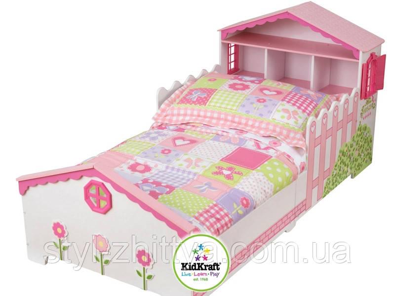 """Дитяче дерев'яне ліжко """"Будиночок"""" від Kidkraft"""