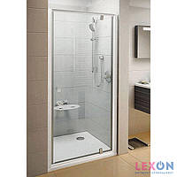 Душевые двери Ravak Pivot PDOP1-90 белый/хром+Transparent 03G70100Z1