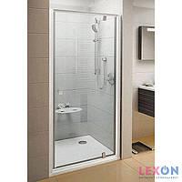 Душевые двери Ravak Pivot PDOP1-90 полированный алюминий+Transparent 03G70C00Z1