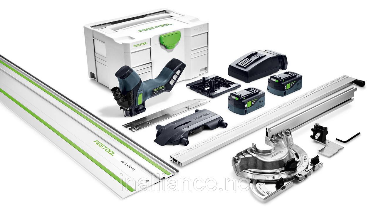 Аккумуляторный резак для раскроя изоляционных материалов ISC 240 Li 5.2 EBI-Set-FS Festool 575592