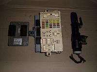 Блок управления двигателем комплект ( ЭБУ )FiatStilo 1.6 16V2001-200755189590, IAW 5NF.T9   C146, 454NCU7A