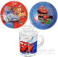 Набор детской посуды Luminarc Disney Cars 3 предмета L2128