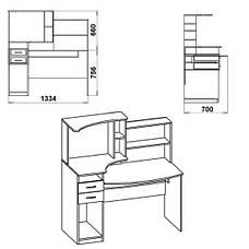 Стол компьютерный КОМФОРТ-4, фото 2