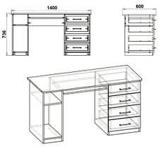 Стол компьютерный СКМ-11, фото 3