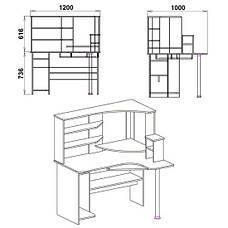Стол компьютерный СУ-10, фото 2