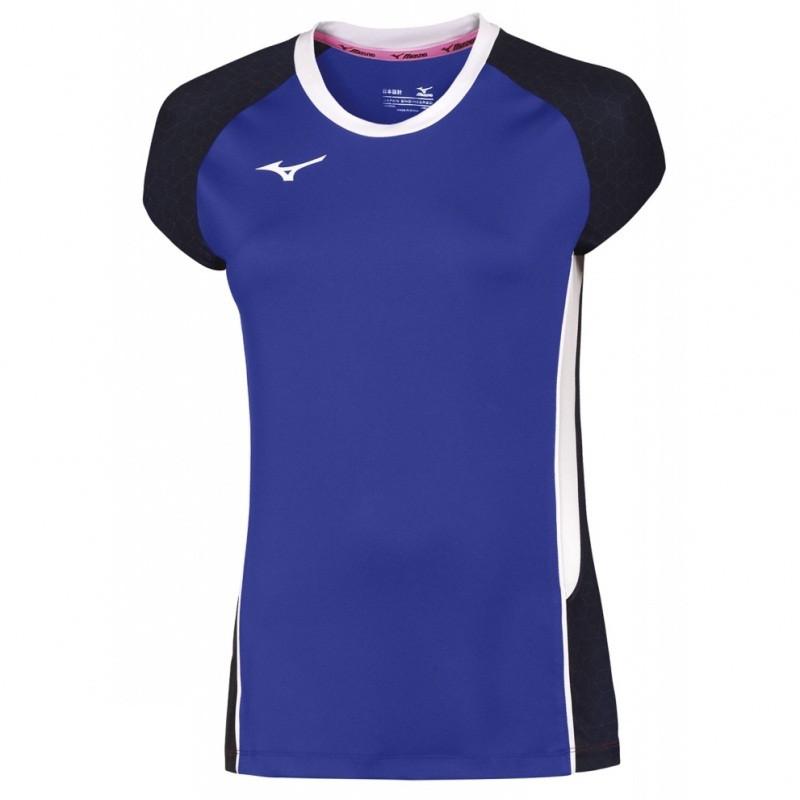 Волейбольная женская футболка MIZUNO Premium High-Kyu Tee (V2EA7202-22), фото 1