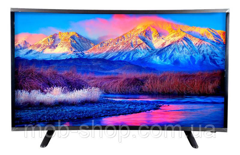 "LCD LED Телевизор JPE 32"" Изогнутый Smart TV, WiFi, 1Gb Ram, 4Gb Rom, T2, HDMI, Android 4.4"