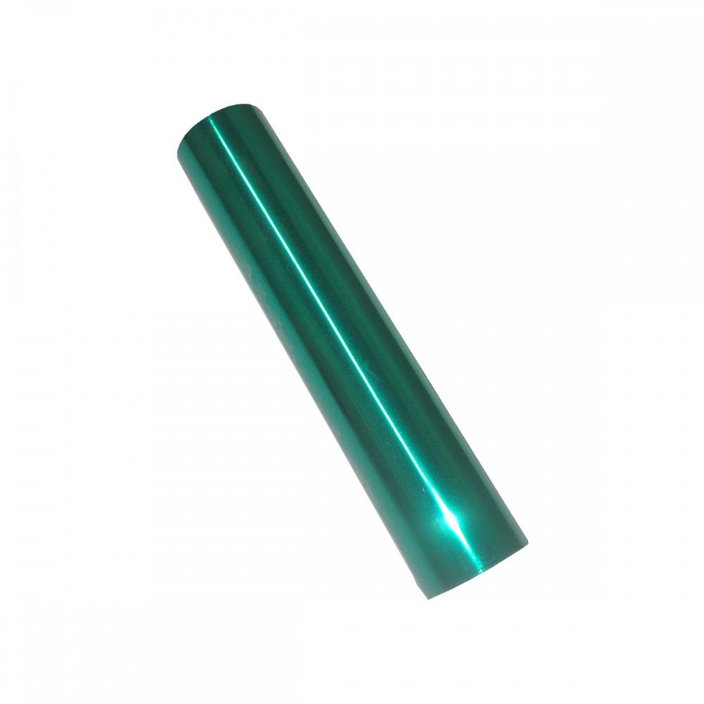 Фольга для ламинирования Смарагдовая глянець, Шир. 210мм, намотка 30м. Crown Roll Leaf Цвет №20