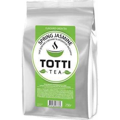 Чай зеленый TOTTI TEA Весенний Жасмин 250 г