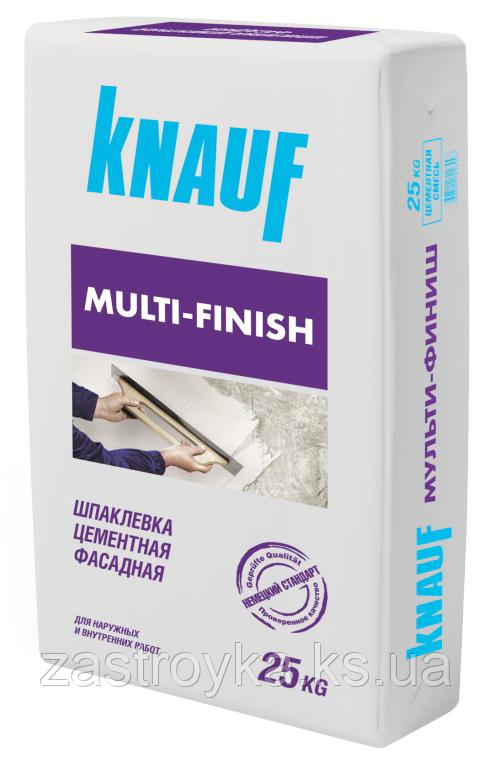 Шпаклевка KNAUF Мульти-финиш, 25 кг