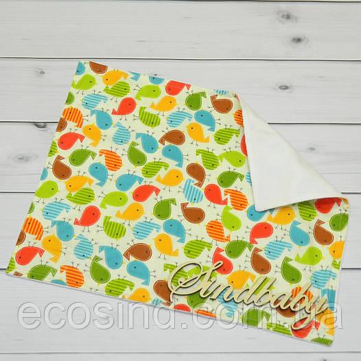Непромокаемая пеленка для новорожденных 40х50 -01