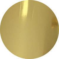 Фольга для ламинирования Золото глянець, Шир. 210мм, намотка 122 м. Crown Roll Leaf цвет № 04, фото 1