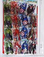 Герои Марвел на планшете. Человек-муравей, Тор, Халк, Железный человек (Ironman)