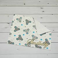 Непромокаемая пеленка для новорожденных 40х50 -03
