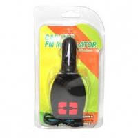 FM модулятор C-02 (LCD/TF/USB/MP3), трансмиттер с пультом управления