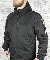 Куртка ветровка Патрол непромокаемая черная