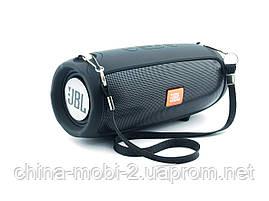 JBL XTREME mini J011 6W копія, блютуз колонка з FM MP3, чорна, фото 3