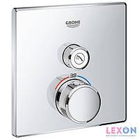 Наружная часть термостата для душа Grohe SmartControl 29123000