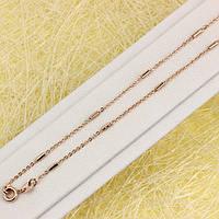 014-0813 - Ланцюжок Якірне плетіння з циліндриками, 50 см