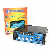 Усилитель мощности звука BT-188А, аудио усилитель