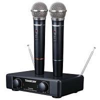 Беспроводная микрофонная радиосистема с двумя ручными микрофонами Takstar TS-2200