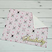 Непромокаемая пеленка для новорожденных 40х50 -05