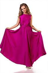 Невероятно красивое платье из шелка 48-52