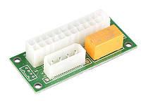 Адаптер-синхронизатор блоков питания ATX 24 Pin to Molex 4 Pin, Dual PSU Adapter Molex (ADD2PSU)