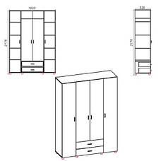 Шкаф для спальни ШКАФ-7, фото 2