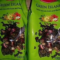 Чай зеленый Green Island (фруктово-цветочный), 100 г