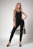 Платье  мод 705-1размер 42-44,46-48 черное, фото 1