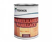 Лак акриловый TEKNOS PANEELILAKKA панельный (полуматовый) 0,9 л