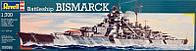 1:700 Сборная модель линкора 'Бисмарк', Revell 05098