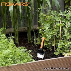 Совок для розсади Fiskars Premium (137200)