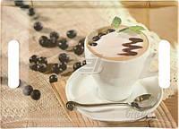 Набор подносов Кофе с фруктами 2 шт.